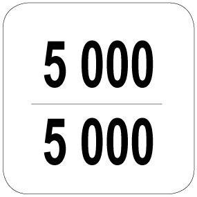 5000 / 5000